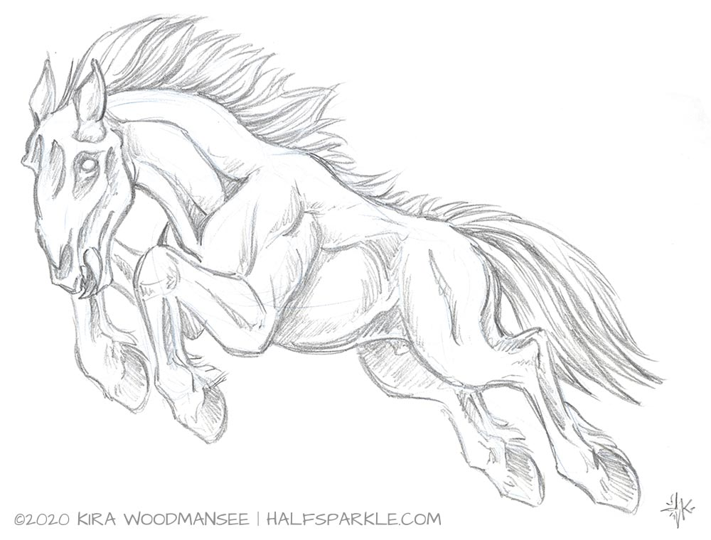 Dire Horse