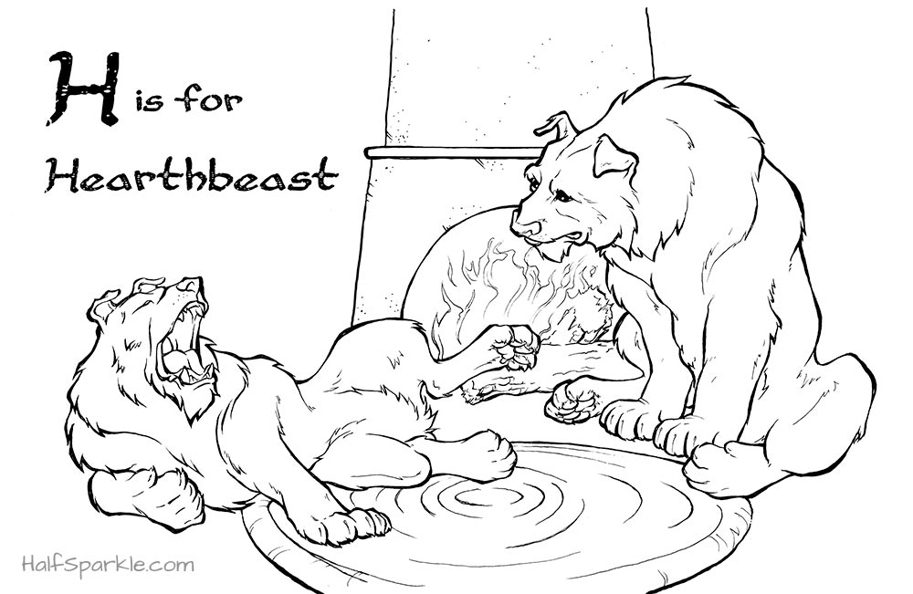 H is for Hearthbeast