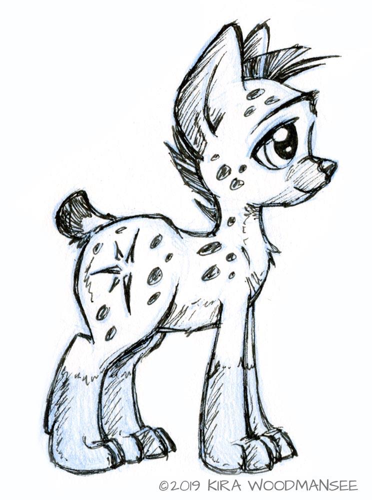My Little Hyena
