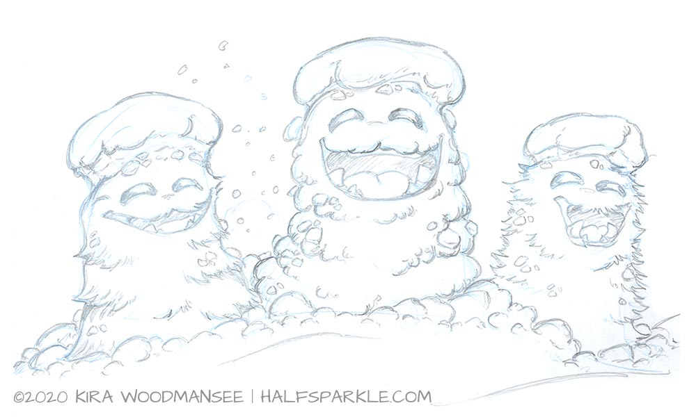 Snow Goofs